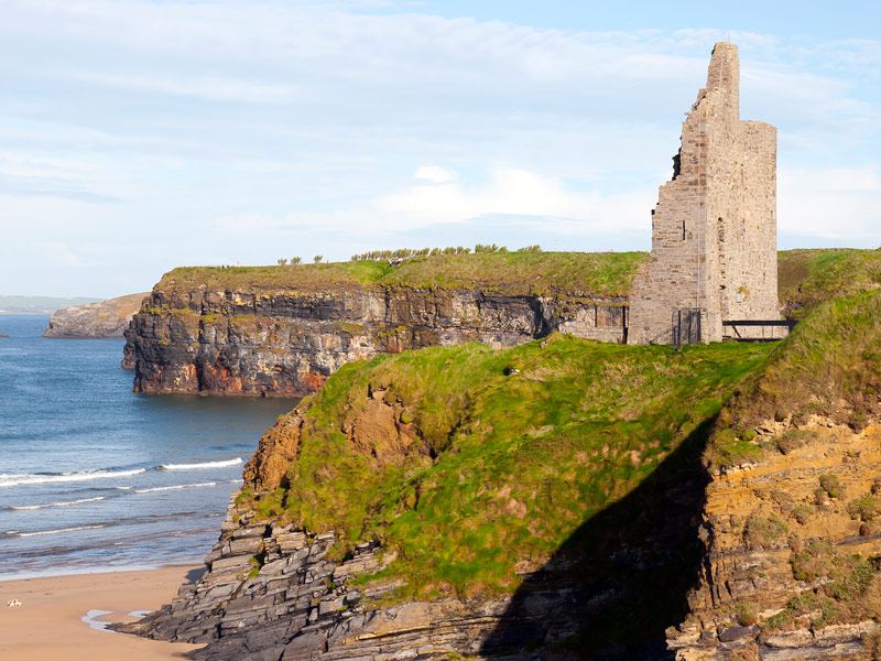 Ballybunion Castle, North Kerry