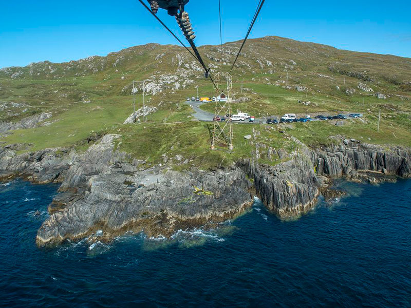 The Cable Car to Dursey Island