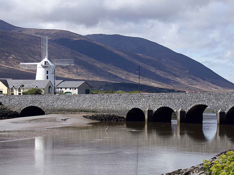 Blennerville Windmill outside Tralee