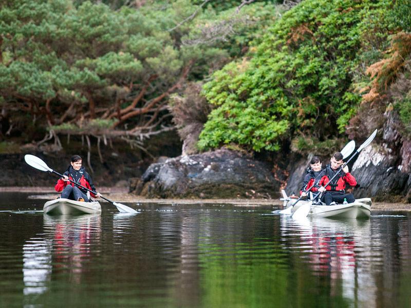 Kayaking near Sneem