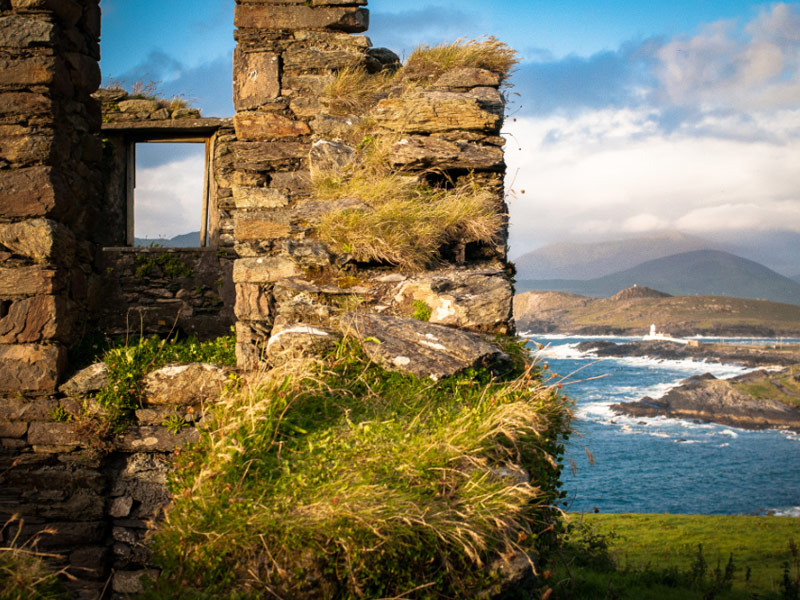 Valentia lighthouse view