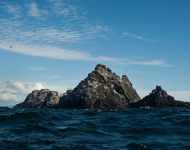 Little Skellig is home to over 26,000 pairs of gannets