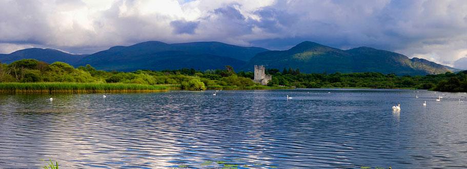 Ross Castle from Lough Leane Killarney