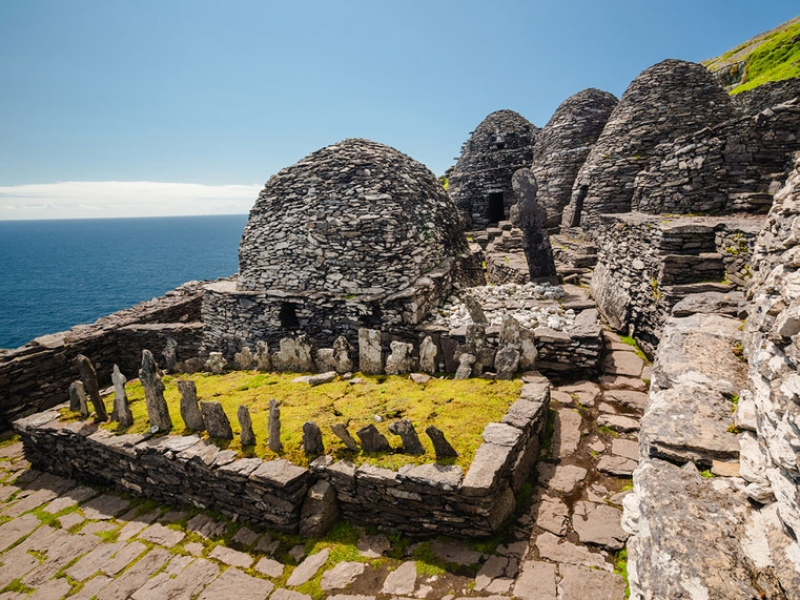 The 6th Century monastic settlement on the Great Skellig