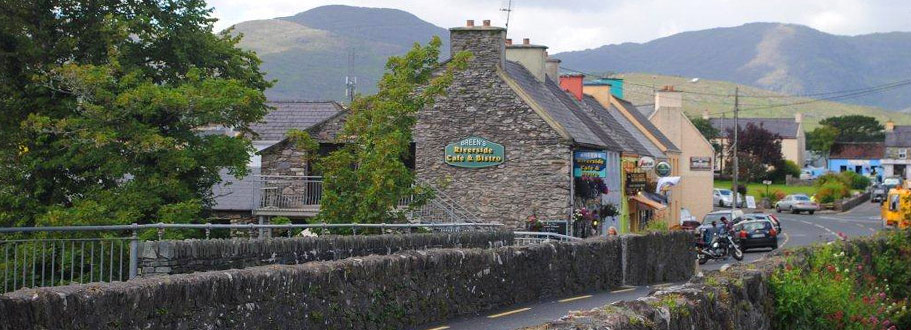 The village of Sneem on the Ring of Kerry