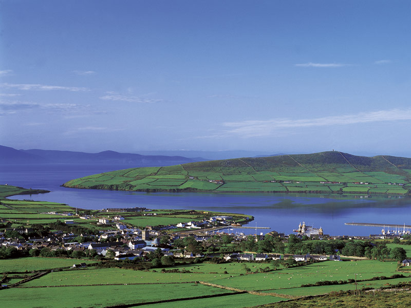 View of Dingle town